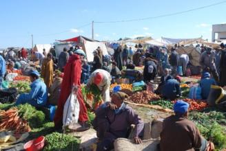Wednesdays Berber market