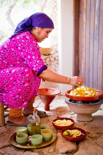 Take a traditional Berber Cooking Class