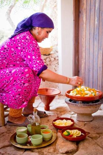 Cours de cuisine et souk à la campagne
