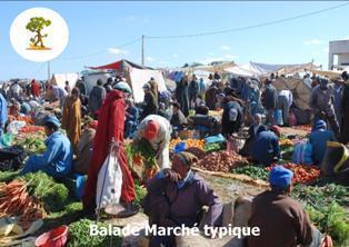 Mercredi, marché typique