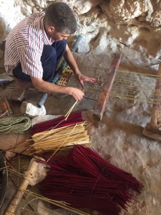 OASIS de Ain El Hajar et thé chez le Vannier